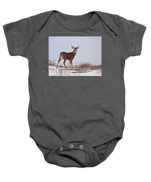The Watchful Deer Baby Onesie