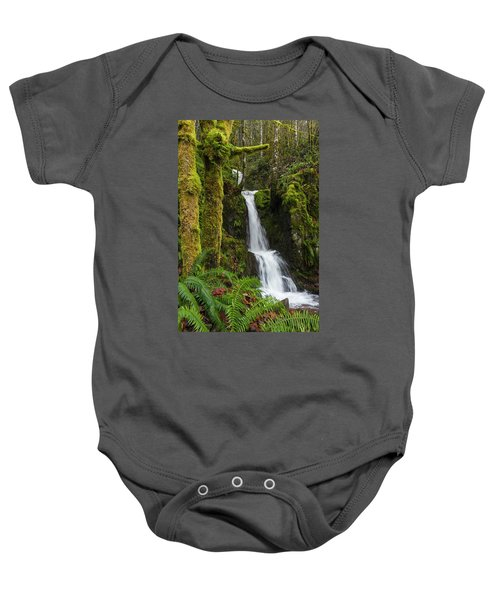 The Water Staircase Baby Onesie