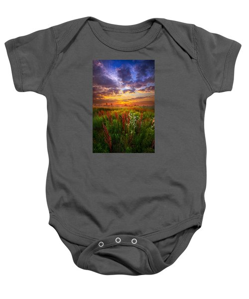 The Whispered Voice Within Baby Onesie