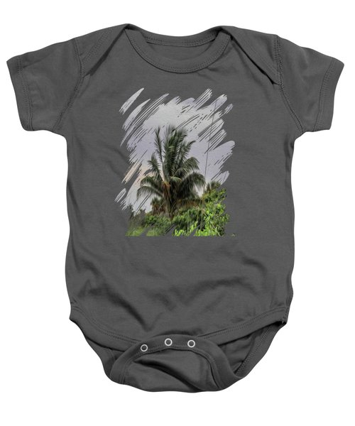 The Wild Palm Tree Baby Onesie