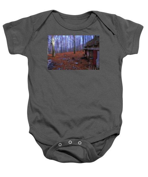 The Wood A La Magritte - Il Bosco A La Magritte Baby Onesie