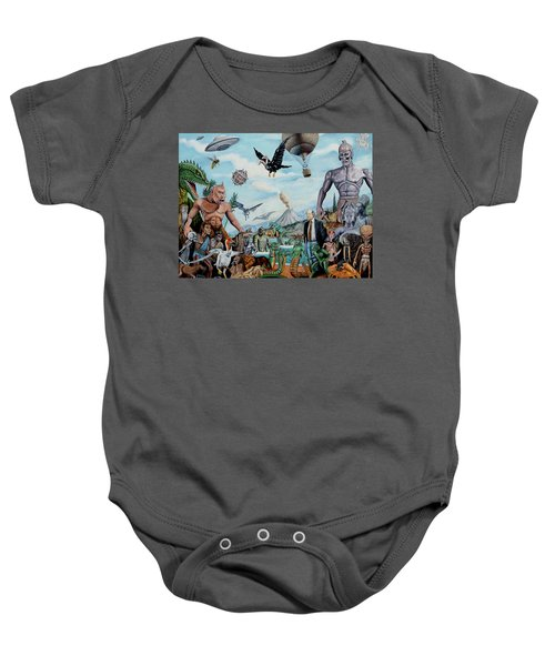 The World Of Ray Harryhausen Baby Onesie
