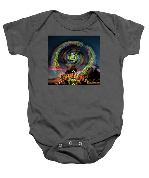The Zipper Motion Art By Kaylyn Franks Baby Onesie
