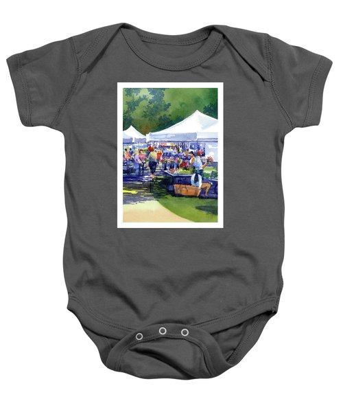 Theinsville Farmers Market Baby Onesie