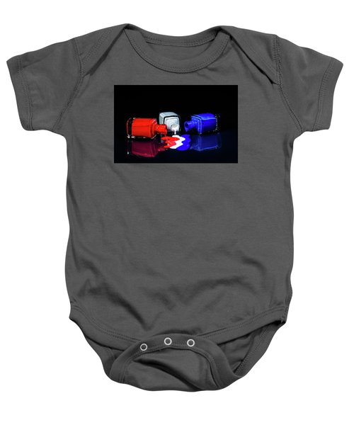 These Colors Don't Run Baby Onesie