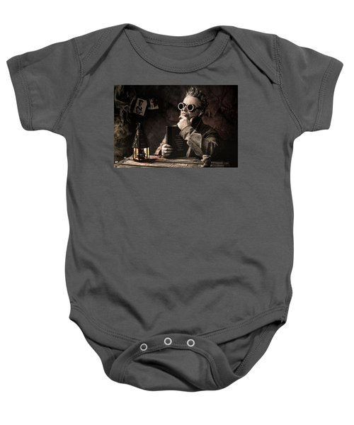 Things To Consider - Steampunk - World Domination Baby Onesie