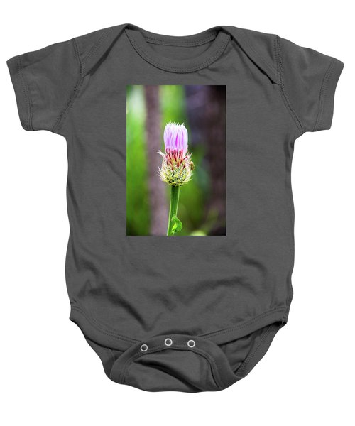 Thistle In The Canyon Baby Onesie