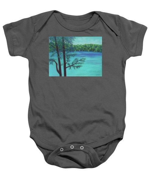 Thoreau's View Baby Onesie