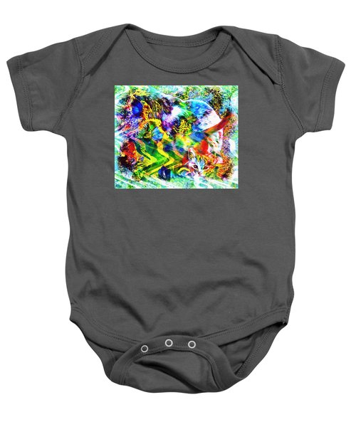 Through The Generations Baby Onesie