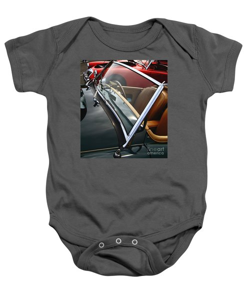 Baby Onesie featuring the photograph Through The Looking Glass by Stephen Mitchell