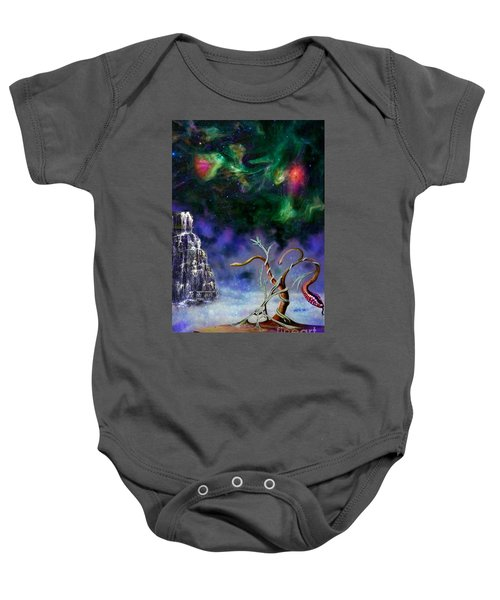 Through The Mirror Baby Onesie