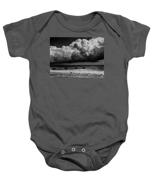 Thunder Head By The Sea Baby Onesie