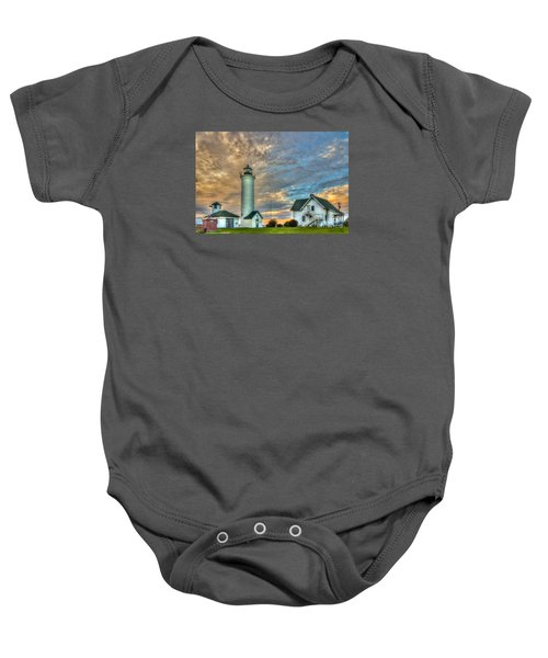Tibbits Point Baby Onesie