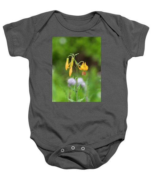 Tiger Lily In Olympic National Park Baby Onesie
