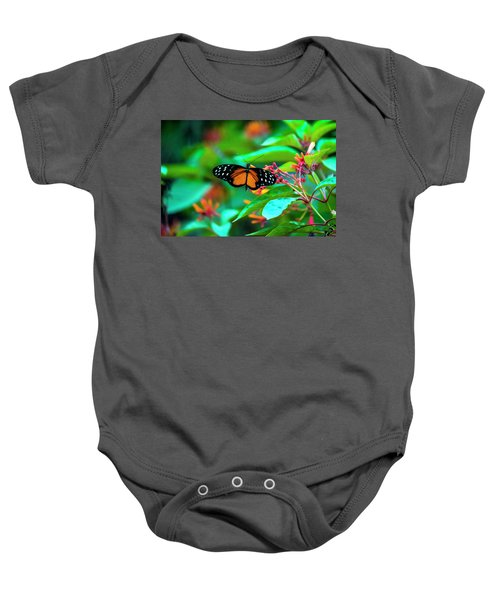 Tiger Longwing Butterfly Baby Onesie
