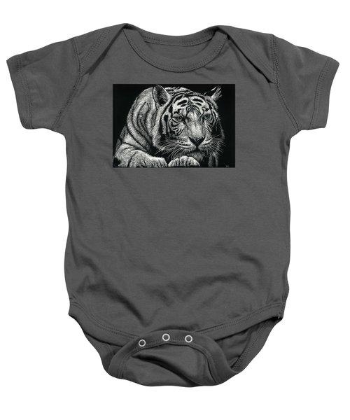Tiger Pause Baby Onesie