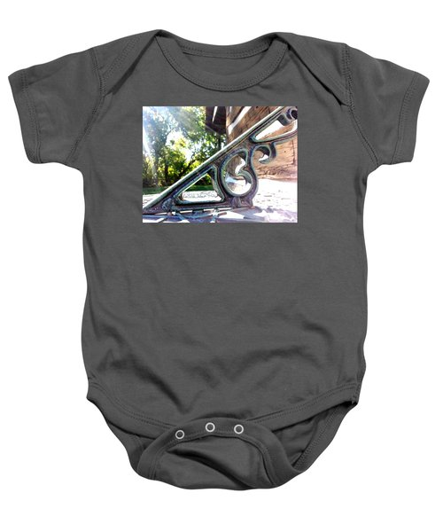Time At An Angle Baby Onesie
