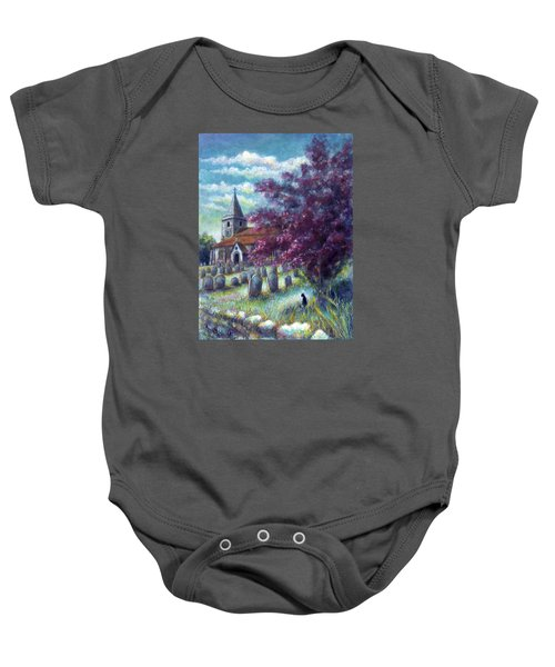 Time Our Companion Baby Onesie