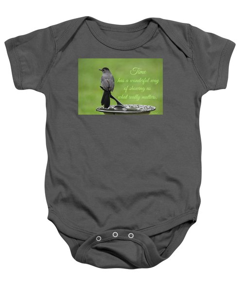 Time Baby Onesie
