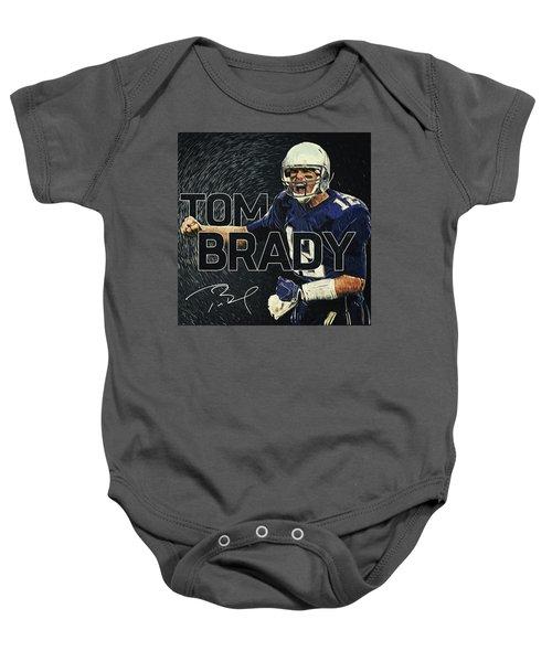 Tom Brady Baby Onesie