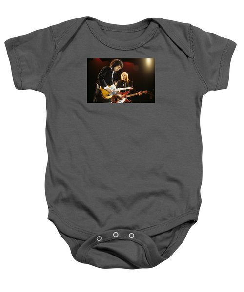Tom Petty And Mike Campbell Baby Onesie