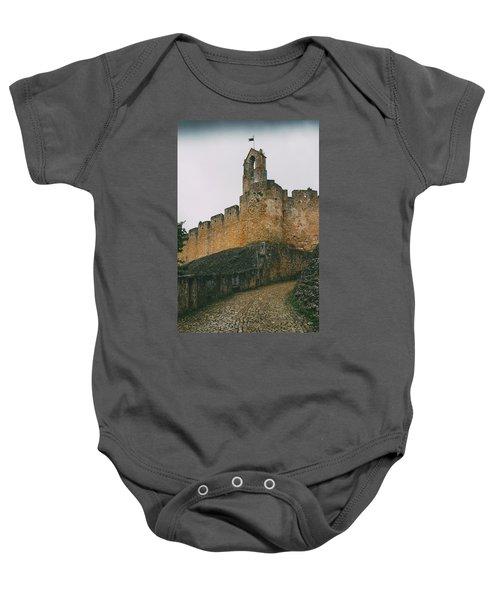 Tomar Castle, Portugal Baby Onesie