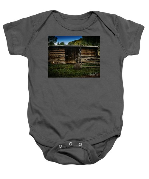 Tool Shed Baby Onesie