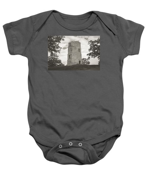 Top Of The Hill Baby Onesie
