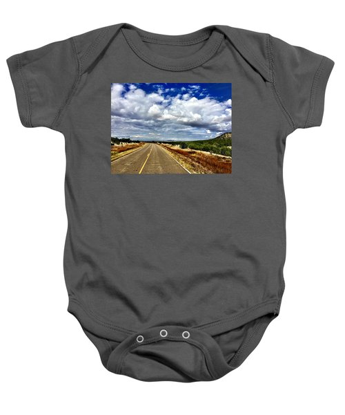 Torrance County Clouds Baby Onesie