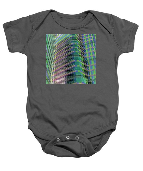 Abstract Angles Baby Onesie