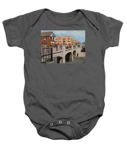 Tosa Village Bridge Baby Onesie