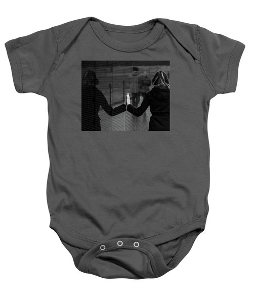 Touching Moment Baby Onesie