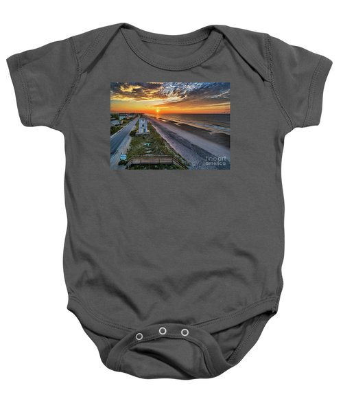 Tower #3 Baby Onesie