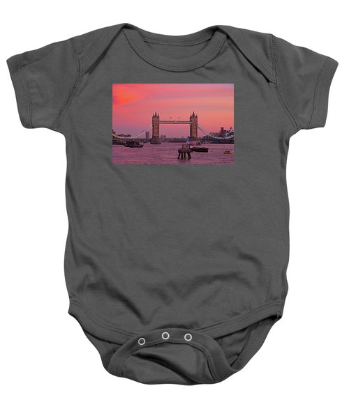 Tower Bridge London Baby Onesie