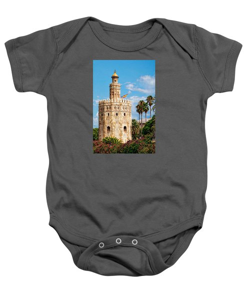 Tower Of Gold Baby Onesie