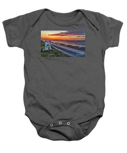 Tower Sunrise Baby Onesie