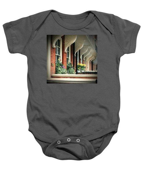 Townhouse Row - London Baby Onesie