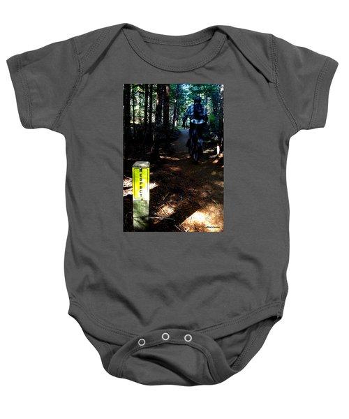 Trail Respect Baby Onesie