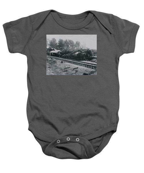 Train Derailment Baby Onesie