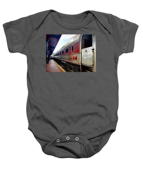 Train Station Baby Onesie