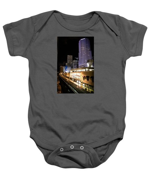 Train Station Baby Onesie