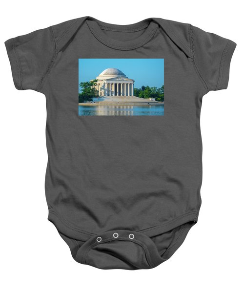 Tranquility At The Jefferson Memorial Baby Onesie
