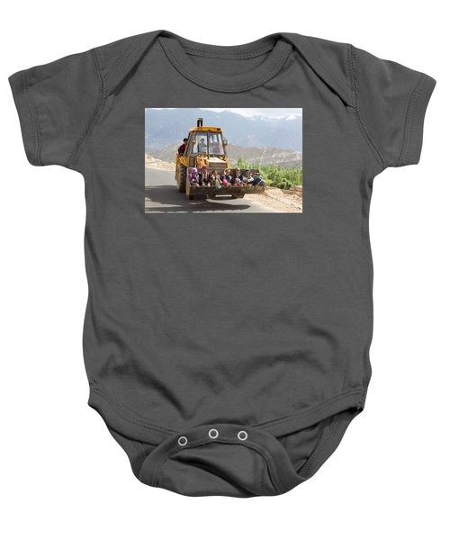 Transport In Ladakh, India Baby Onesie