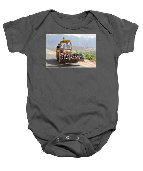 Transport In Ladakh, India Baby Onesie