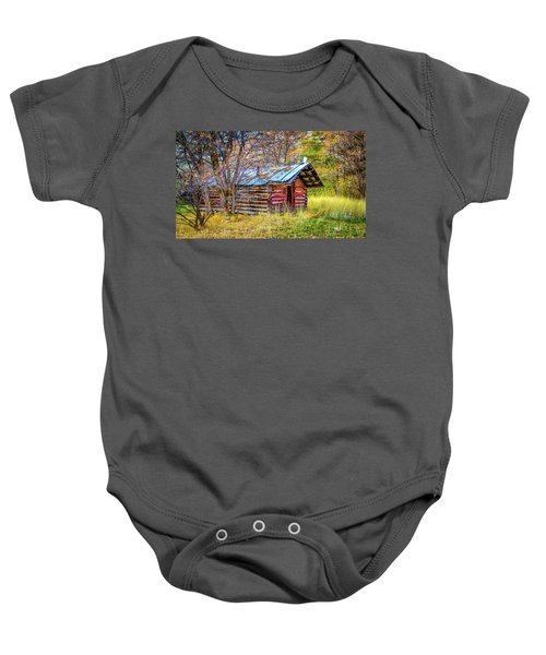 Trappers Cabin Baby Onesie
