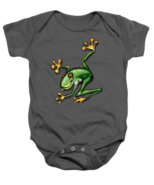 Tree Frog Baby Onesie by Kevin Middleton