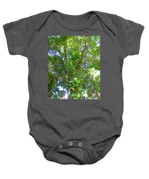 Baby Onesie featuring the photograph Tree M1 by Francesca Mackenney