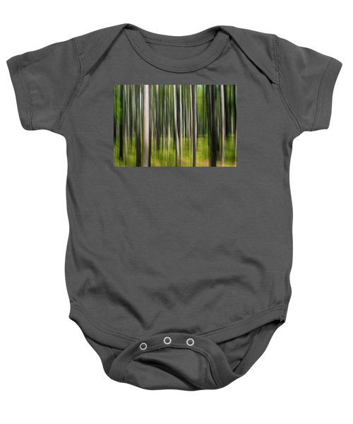 Tree Painting Baby Onesie