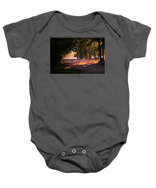 Tree Tunnel Baby Onesie