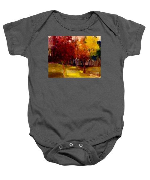 Treescape Baby Onesie